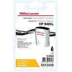 Cartouche jet d'encre Office Depot Compatible HP 940XL Noir C4906AE