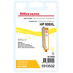 Cartouche jet d'encre Office Depot Compatible HP 920XL Jaune CD974A
