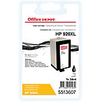 Cartouche jet d'encre Office Depot Compatible HP 920XL Noir CD975A