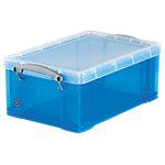Boîte de rangement Really Useful Boxes 9 L UB9LCBL 15,5 (H) x 25,5 (l) cm Bleu