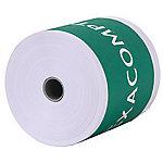 Bobines de papier thermique Exacompta 40915E Blanc