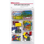 Pack attaches et fixations Office Depot 30.0 mm Assortiment
