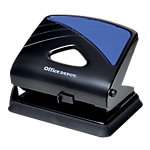 Perforateur 2 trous Office Depot 96W0 Noir, bleu