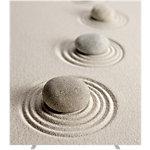 Cloison amovible Paperflow 1600 x 1740 mm Marron