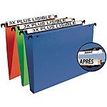 Dossiers suspendus pour tiroirs fond V Esselte 58150 Bleu