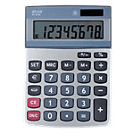 Calculatrice de bureau Office Depot AT 812E 8 Chiffres Gris argenté