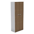 Armoire London 860 x 450 x 2 140 mm Imitation noyer