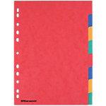 Intercalaires Office Depot A4 6 couleurs 8 intercalaires Perforé Carton 225 g