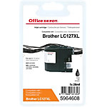 Cartouche jet d'encre Office Depot Compatible Brother LC127XL