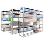 Rayonnage modulaire départ EPSILINE 1250 x 700 x 2000 mm