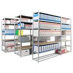 Rayonnage modulaire suivant EPSILINE 1250 x 700 x 2000 mm