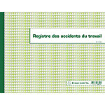 Registre accident du travail bénin Exacompta 24 x 32 cm 110 g