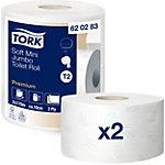 Papier toilette Tork 620283 2 épaisseurs   2 Rouleaux de 850 Feuilles