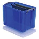 Boîte de rangement Really Useful Boxes 19 29 x 39,5 x 25,5 cm Bleu