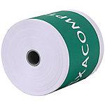Bobines carte bancaire papier thermique Exacompta 40347E Blanc