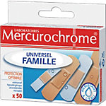 Pansements Mercurochrome   Assortiment   50 Unités