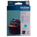 Cartouche jet d'encre Brother D'origine LC123C Cyan