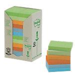 Notes adhésives recyclées Post it 51 x 38 mm Pastel   24 Unités de 100 Feuilles