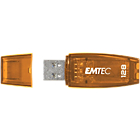 Clé USB EMTEC C410 128 Go Orange