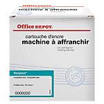 Cartouche jet d'encre Office Depot Compatible Neopost Bleu