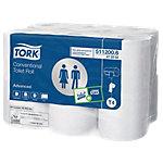 Papier toilette Tork Advanced 2 épaisseurs   12 Rouleaux de 200 Feuilles
