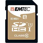 Carte mémoire EMTEC Gold 8 Go SDHC