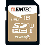 Carte mémoire EMTEC Gold 16 Go SDHC