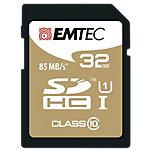 Carte mémoire EMTEC Jumbo Extra 32 Go SDHC Gris