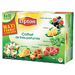 Coffret thé aromatisé Lipton Assortiment   60 Unités