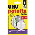 Pastilles de gommes adhésives UHU Blanc   32 Unités