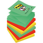 Notes repositionnables Post it Super sticky Z Notes 76 (H)  x  76 (l) mm 70 g