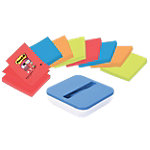 Notes adhésives Post it 76 x 76 mm Bleu   90 Feuilles