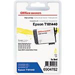 Cartouche jet d'encre Office Depot Compatible Epson 18XL Jaune