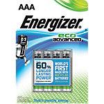 Piles Energizer Eco Advanced AAA 4 Unités