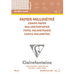Papier vélin millimétré Clairefontaine 90 g