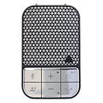 Kit mains libres ZAGG Bluetooth Noir, Argent
