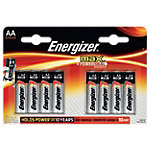 Piles alcalines Energizer Max LR6 AA