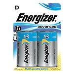 Piles alcalines Energizer Eco Advanced D 2 Unités