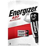 Piles alcalines Energizer Alkaline A27 2 Unités
