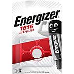 Piles bouton Energizer Lithium 3V CR1616