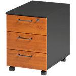 Caisson mobile 3 tiroirs 3 Gautier Office Jazz+ 420 x 580 x 590 mm Imitation aulne