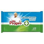 Lingettes nettoyantes Mr. Proper Antibactériennes   120 Unités