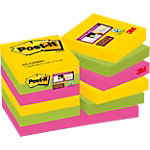 Notes repositionnables Post it Super Sticky 48 (H)  x  48 (l) mm 70 g