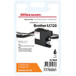 Cartouche jet d'encre Office Depot Compatible Brother LC123 Noir