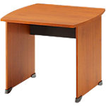 Bureau droit Gautier Office Jazz+ 800 x 800 x 740 mm Imitation aulne