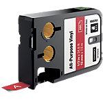 Ruban d'étiquettes industrielles DYMO XTL 12mm (L) x 7,5m (l) Blanc, rouge