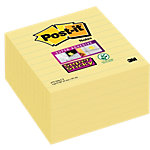 Notes adhésives Post it 101 x 101 mm Jaune   6 Unités de 90 Feuilles