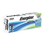 Piles alcalines Energizer Eco Advanced AAA 20 Unités