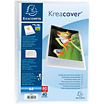 Protège documents soudé Exacompta Krea Cover A4 Cristal