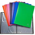 Protège documents soudé Exacompta Opaque Polypro 20 pochettes A4 Assortiment   10 Unités